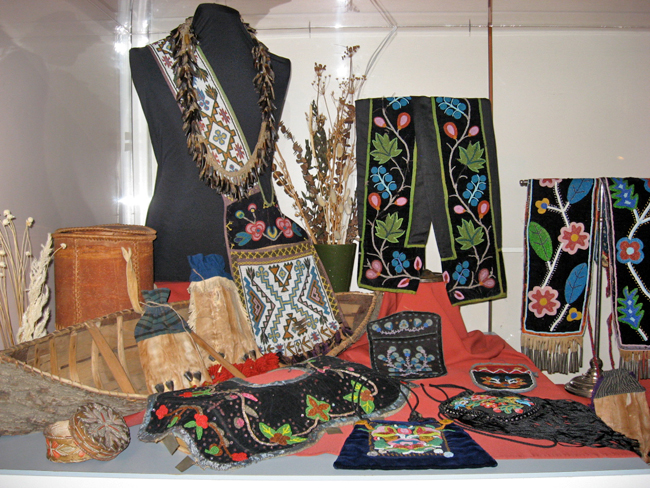 Beautiful Beadwork at the Lake of the Woods Museum