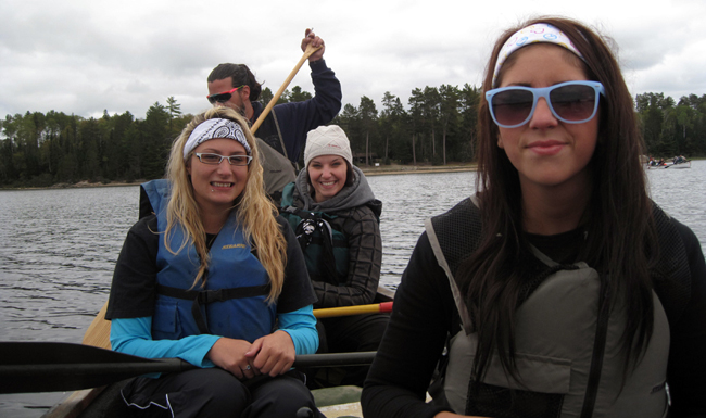 Everyone will enjoy canoeing Quetico Park