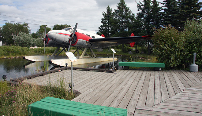 Stop by to see this Beech 18 along the trans Canada Highway in Ignace
