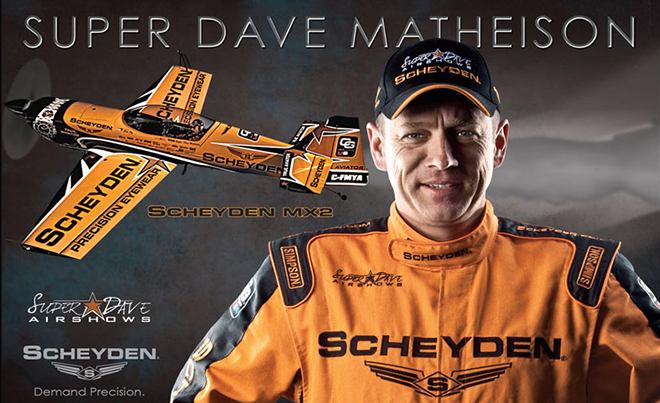 Look forward to seeing Super Dave Matheison