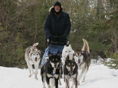 dog-sled-trips Ontario, Canada