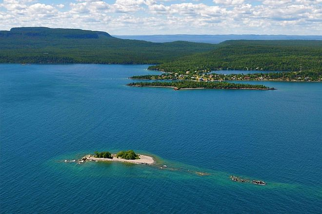 Aerial Silver Islet 660