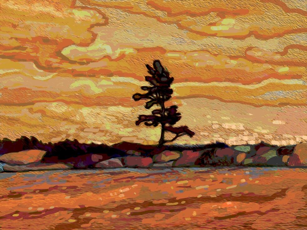 Group of seven northern ontario travel for The art of painting