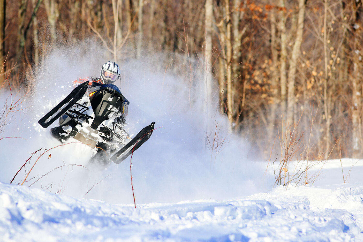 The Complete List Of Snowmobile Events In Ontario Northern - This is what happens when you fly a snowmobile off a cliff