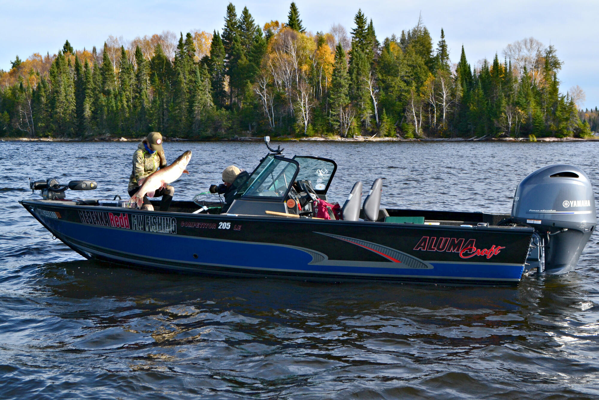 Fishing For The Mighty Fall Musky In The Legendary Lac
