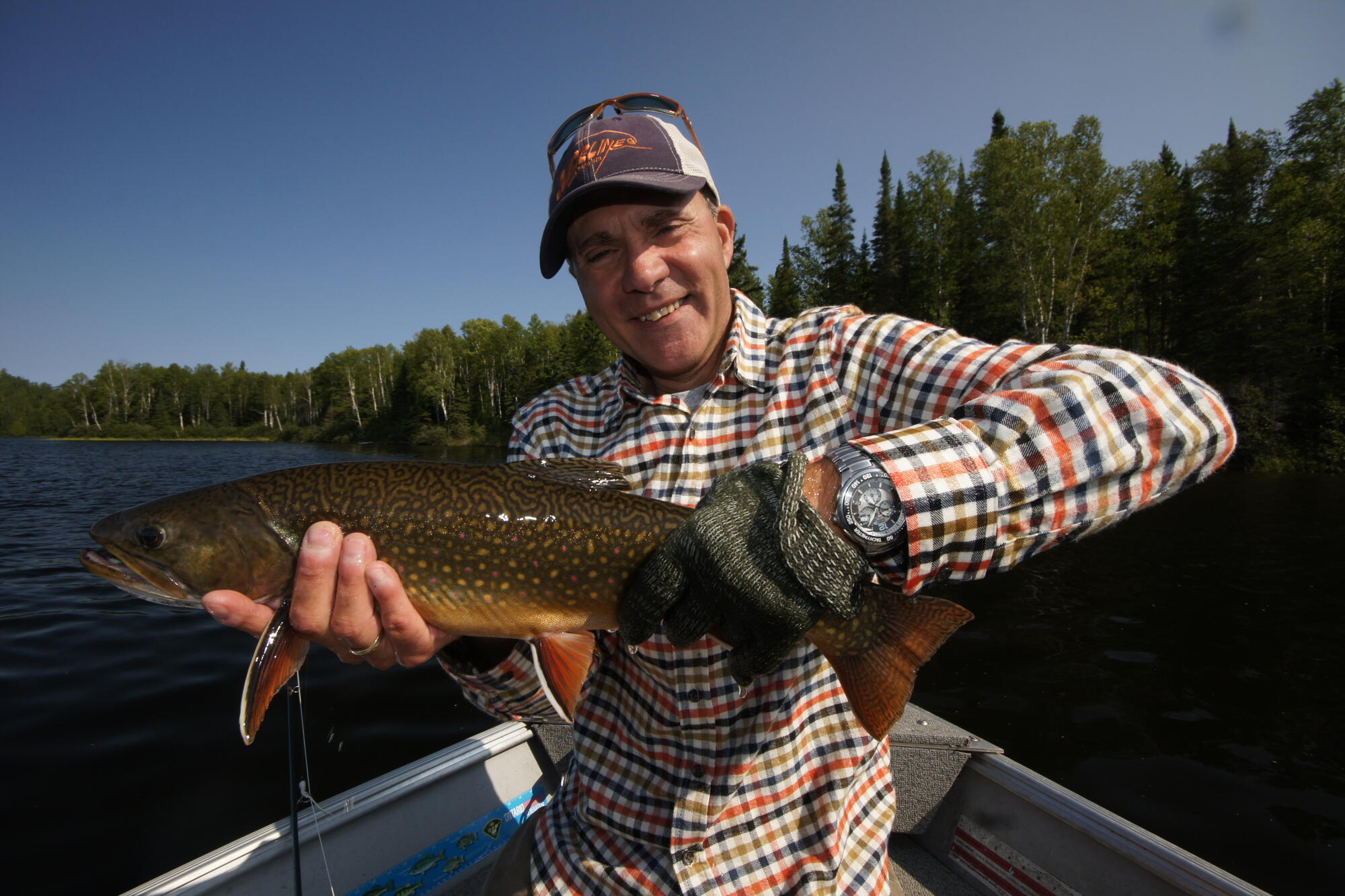 Ten sweet spots for ontario brook trout northern ontario for Places to go fishing