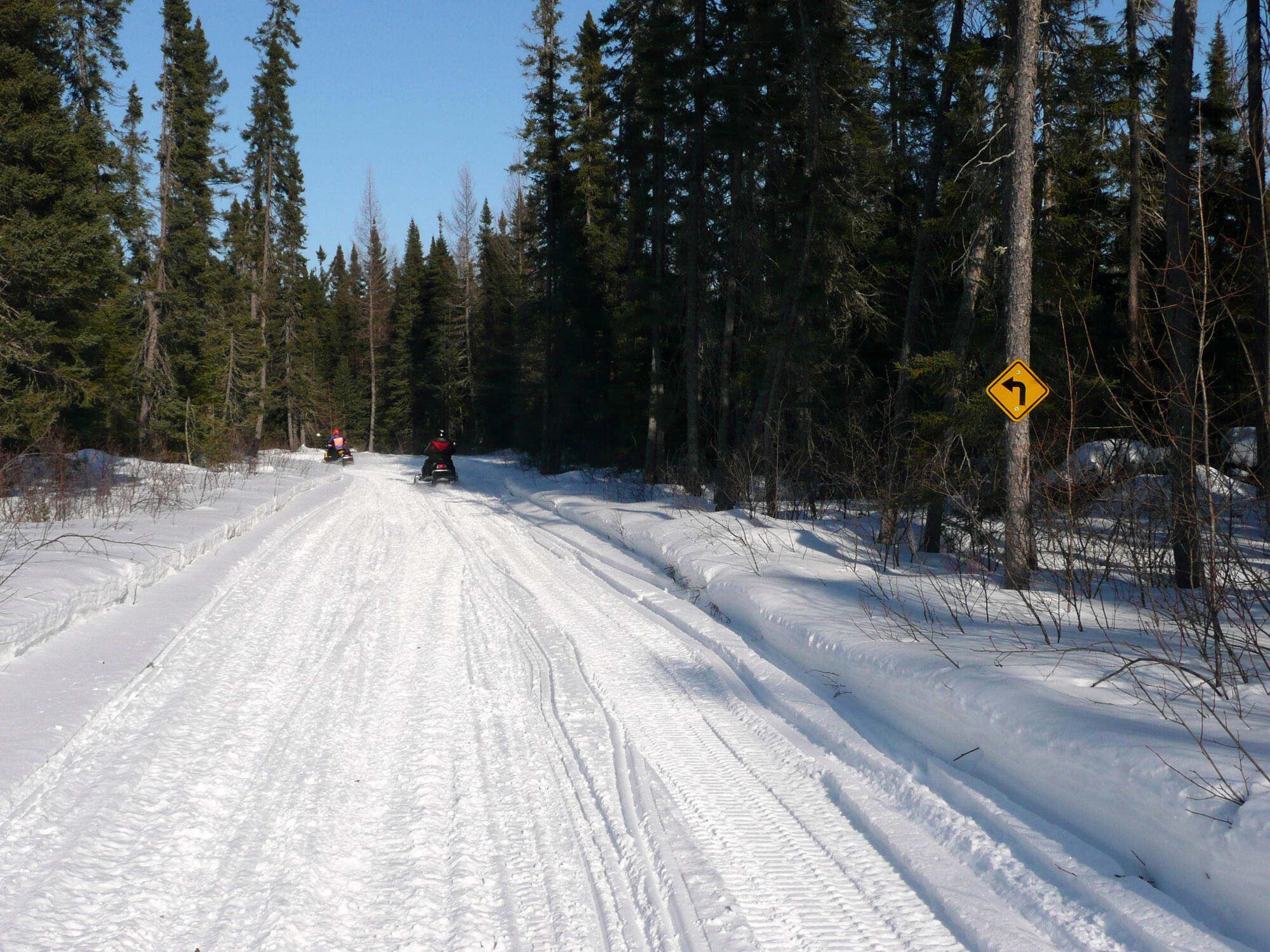 Greenstone To Hearst Snow Trails Are Back