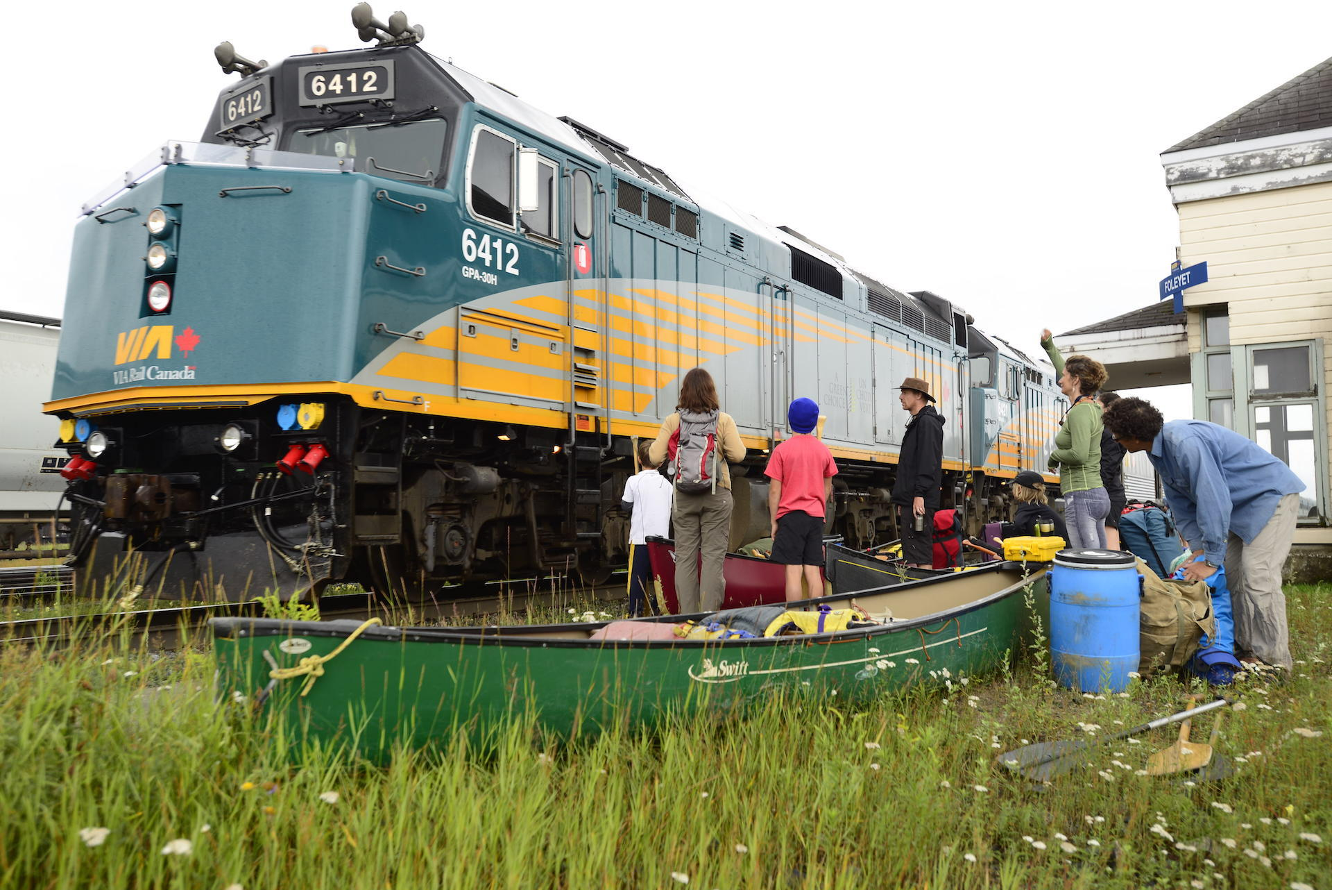Take A Train-In Canoe Adventure To Wabakimi Provincial Park
