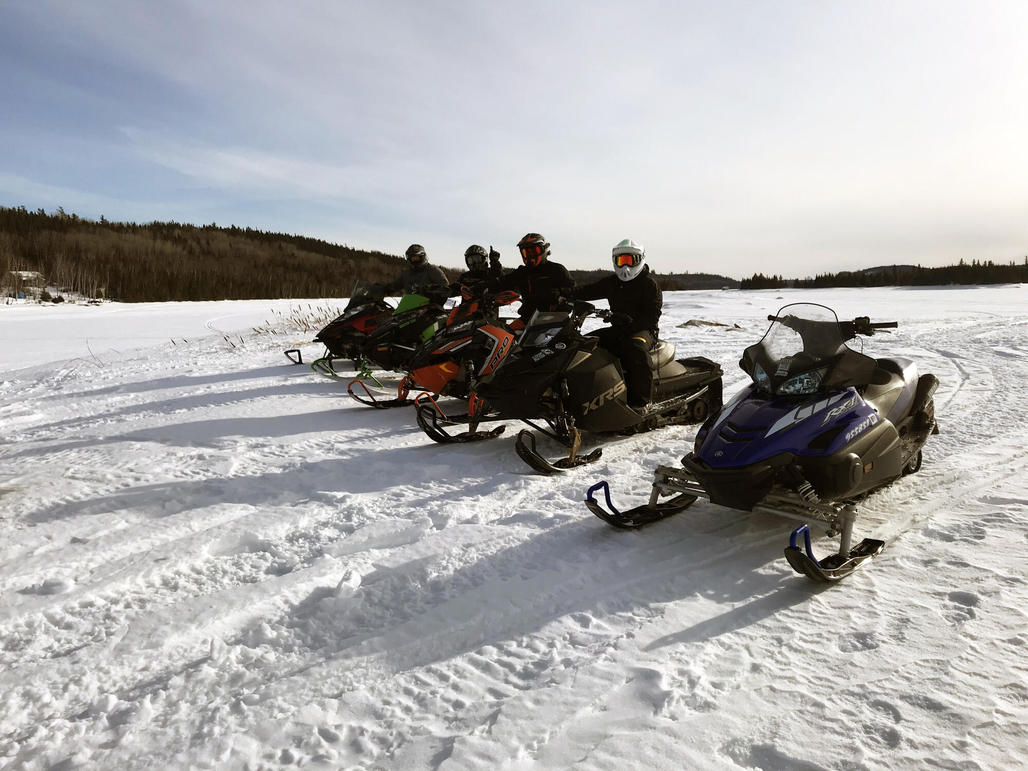 Winter Isnt Over Till Its Over >> Late Season Snowmobile Trip To Horwood Lake Lodge Northern Ontario