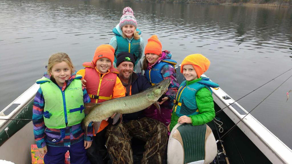 Best age to take a kid fishing to canada northern for Fishing camps for kids