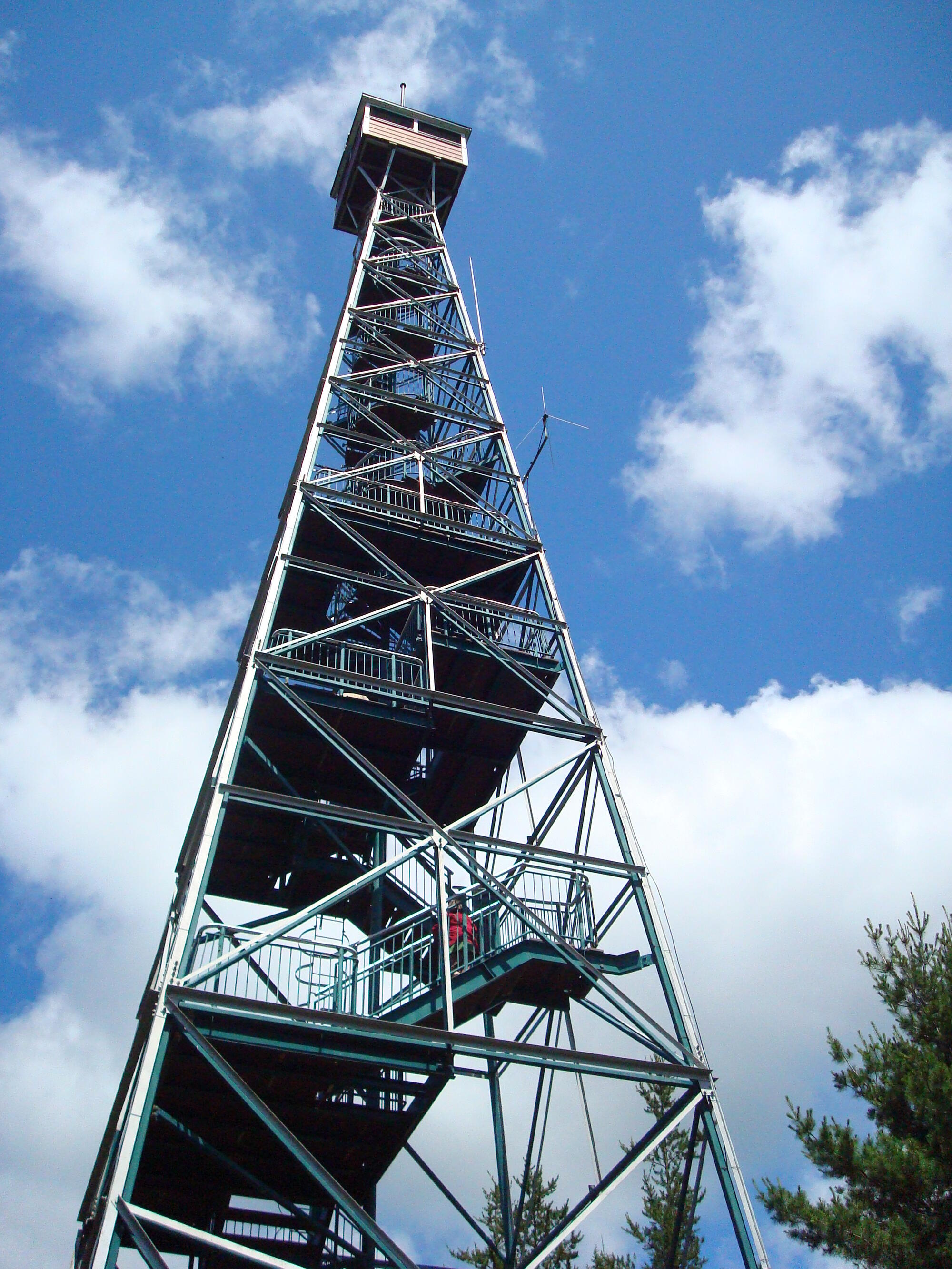 history of the fire tower temagami northern ontario travel