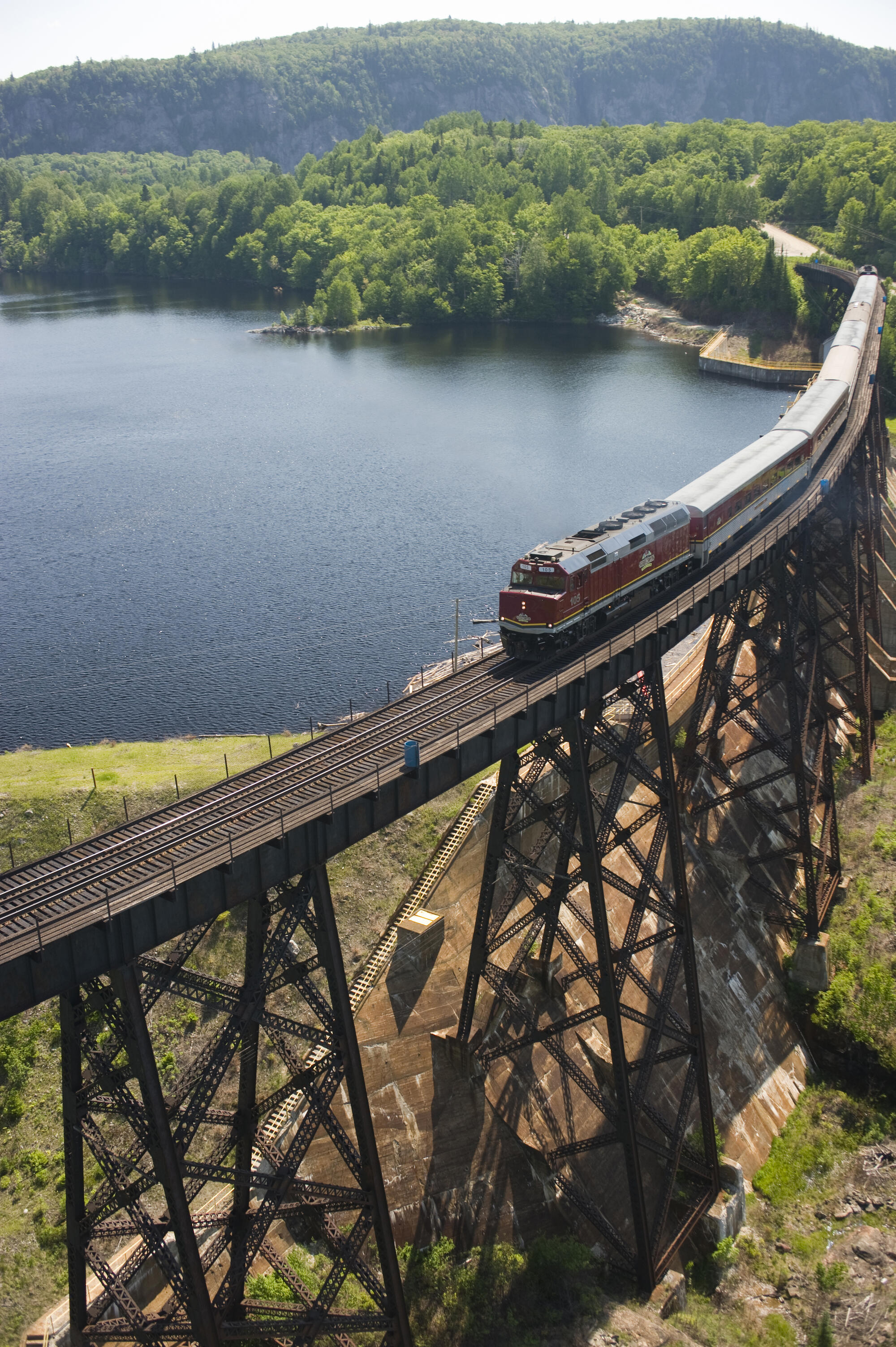 the agawa tour train: a canadian natural wonder in sault ste.marie