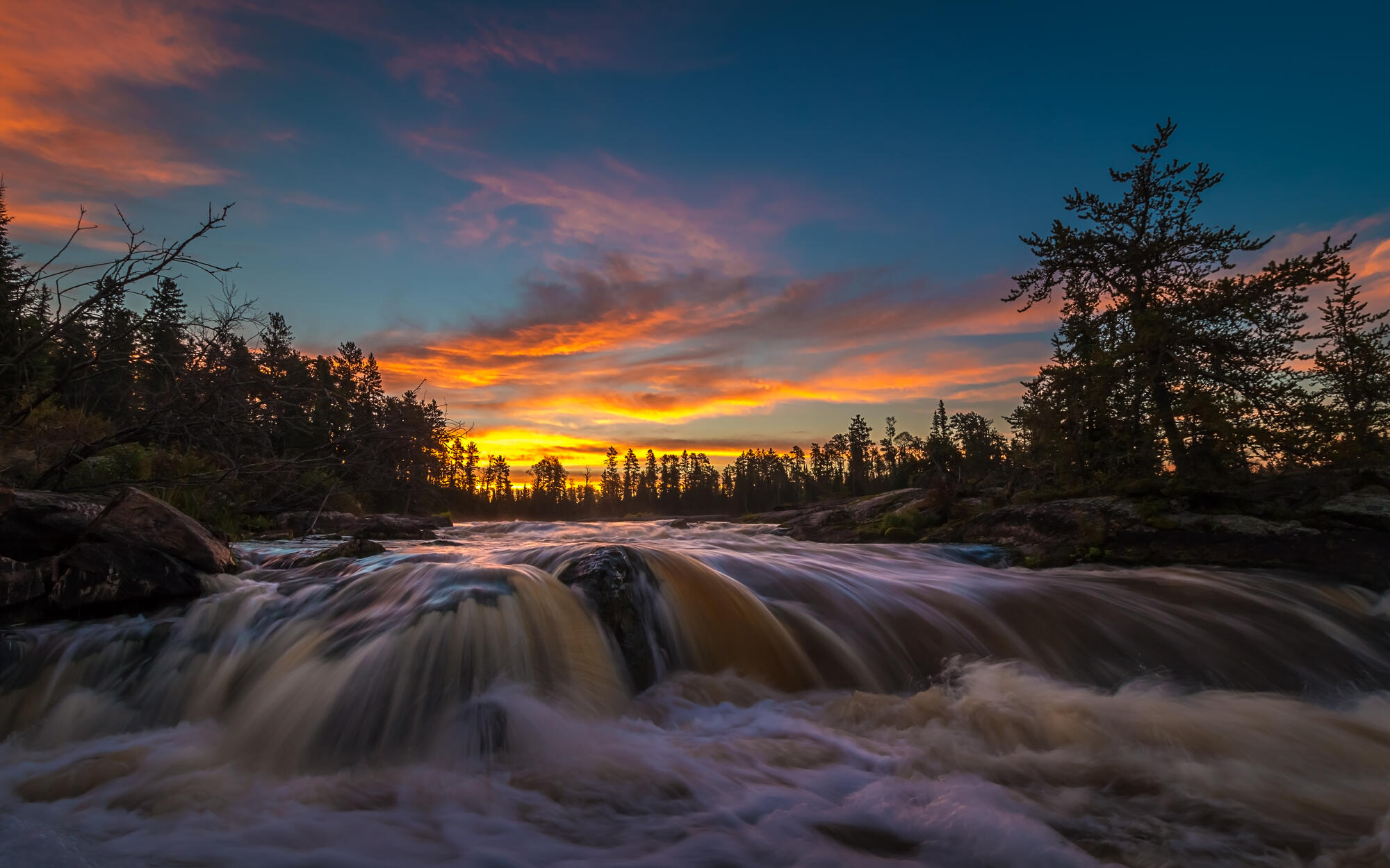 photographing the rugged canadian shield northern