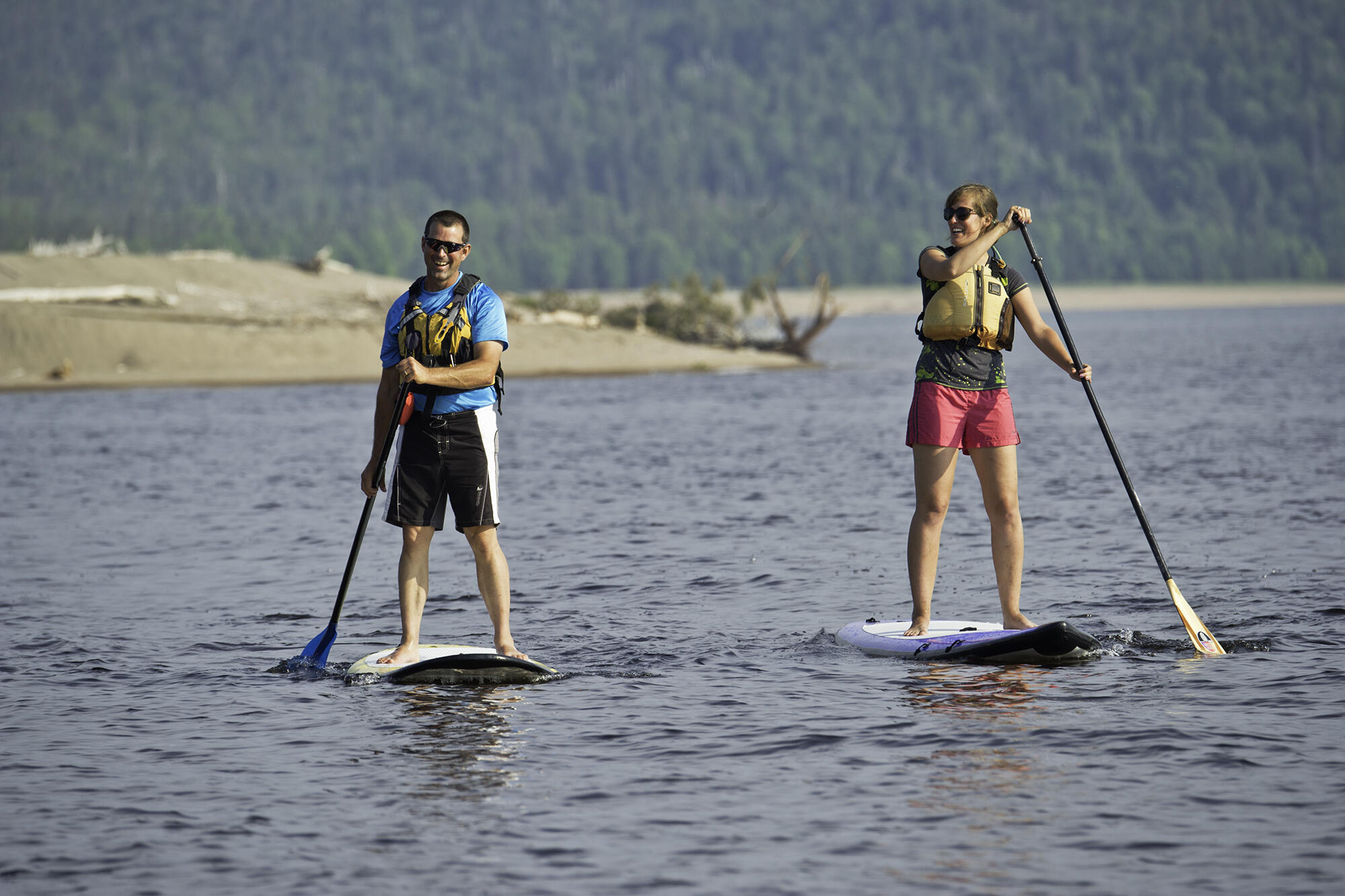 Learn to Stand Up Paddle on Lake Superior
