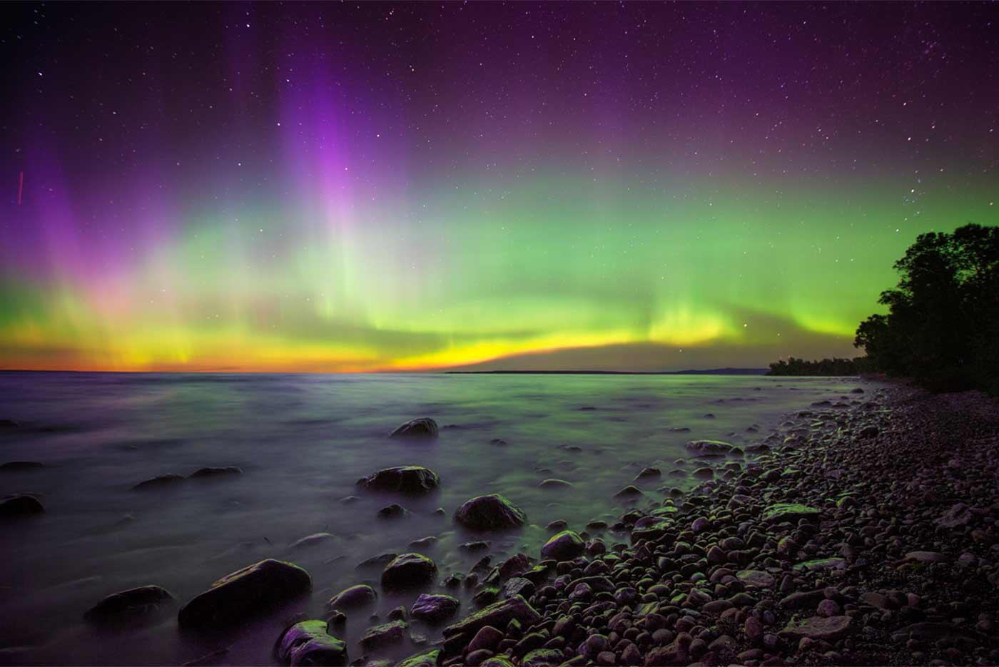 Auroras In Algoma Northern Ontario Travel