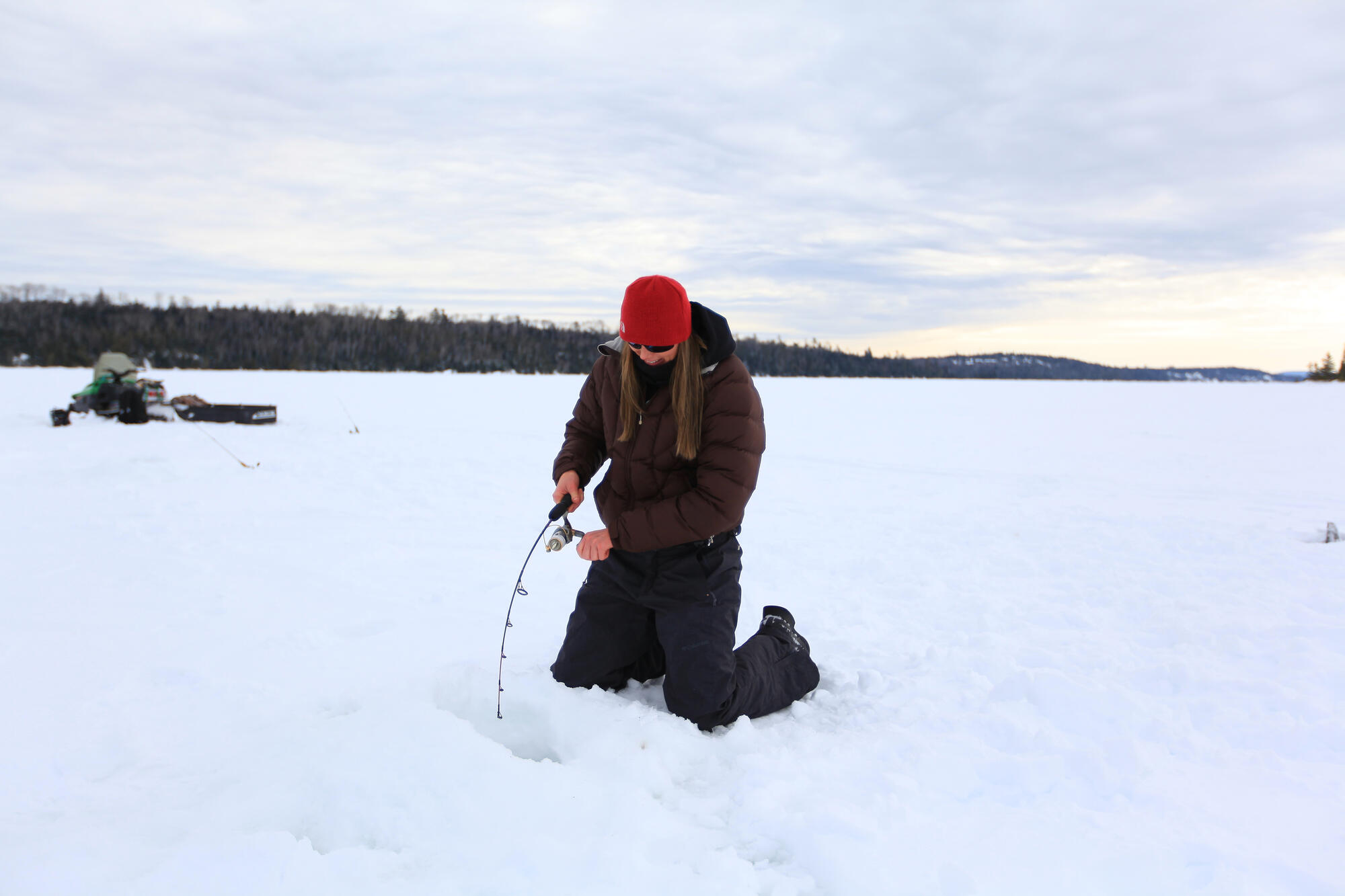 10 must try ice fishing lakes in ontario northern for Ice fishing cabins alberta