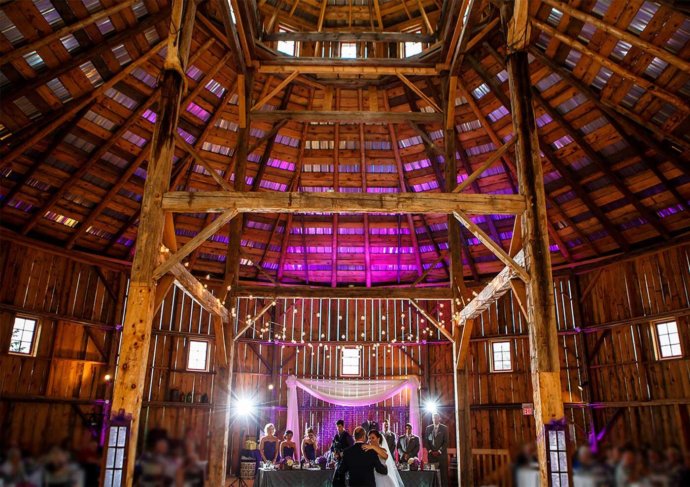 Ontario barn wedding venues