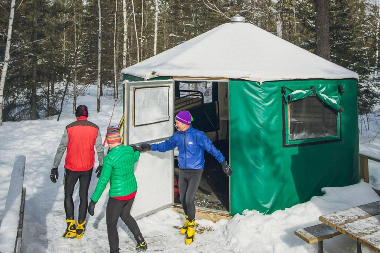 Winter Glamping And Camping In Ontario Parks Northern