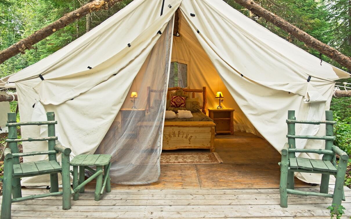 Glamping Glamorous Camping In Ontario Canada Northern