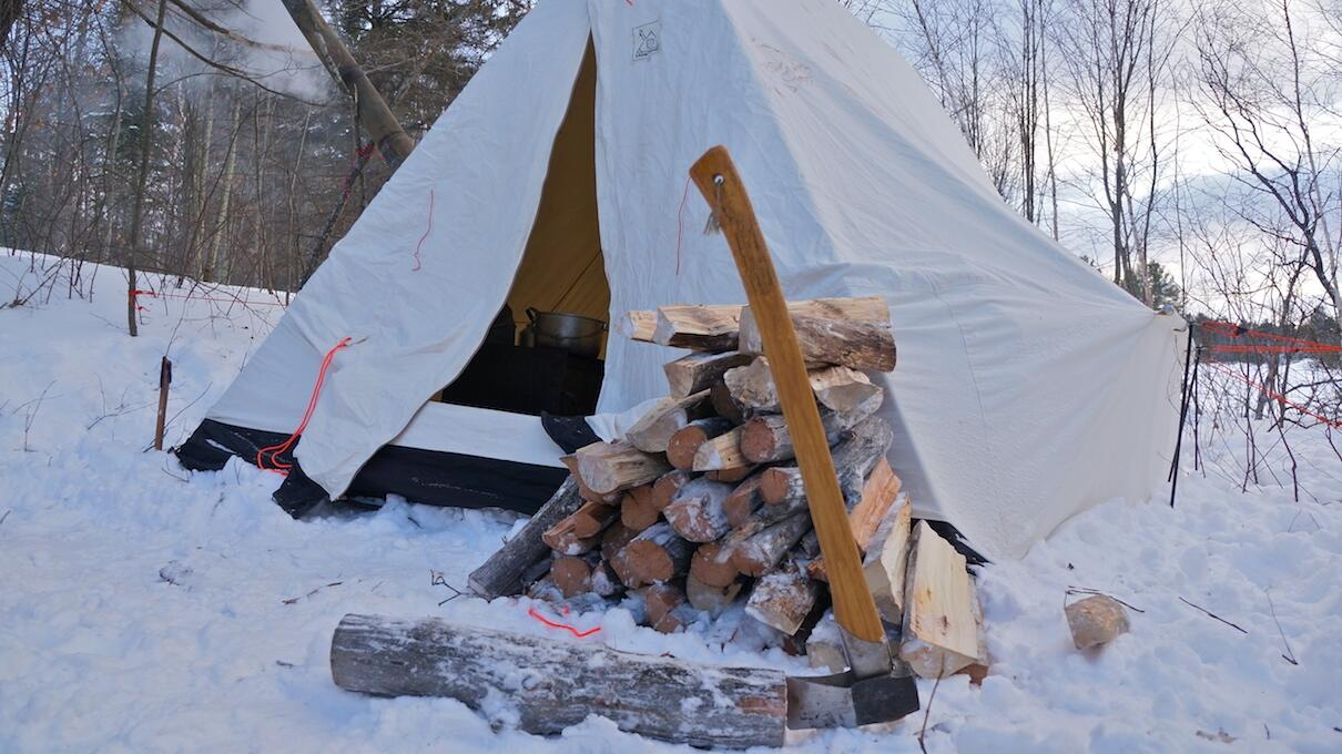 The Most Canadian Activity Ever Winter Camping