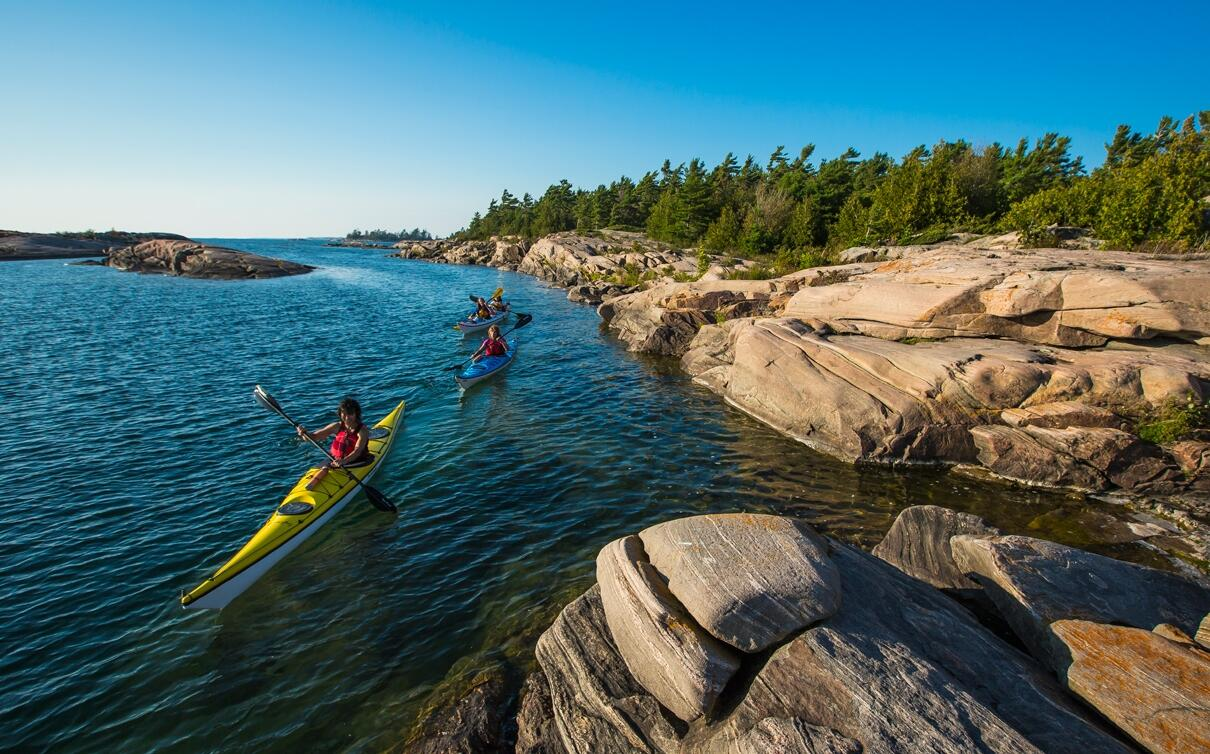 Discover Why Georgian Bay Has The Best Sea Kayak Touring