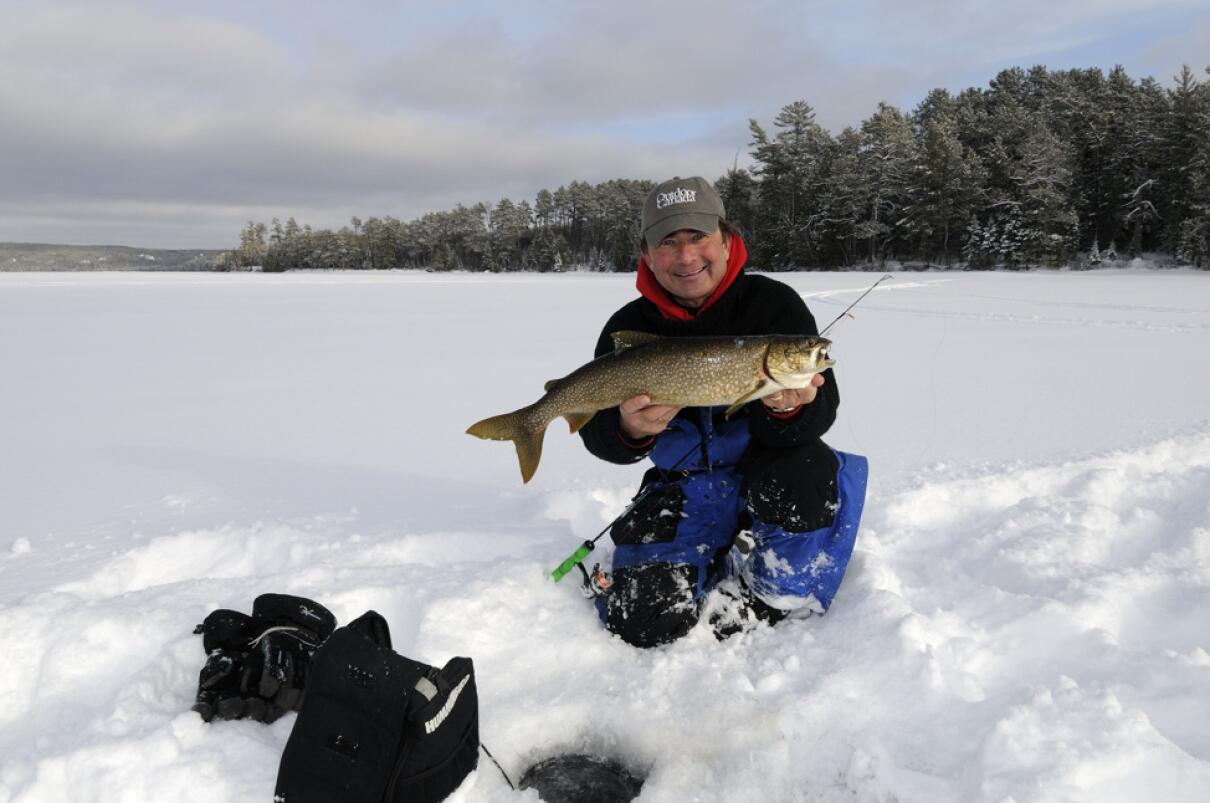 How to locate lake trout in the wintertime northern for How to fish for lake trout