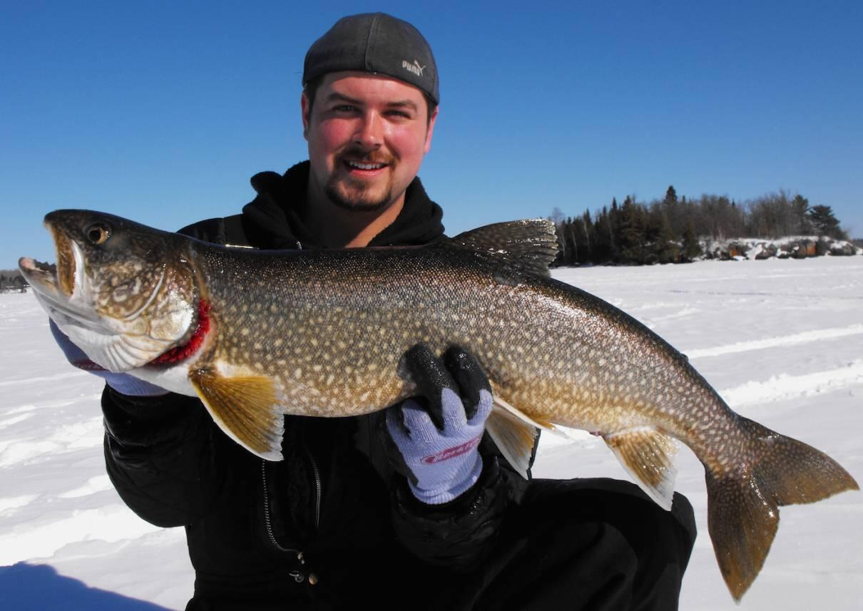 How to pattern winter lake trout northern ontario travel for How to fish for trout in a lake
