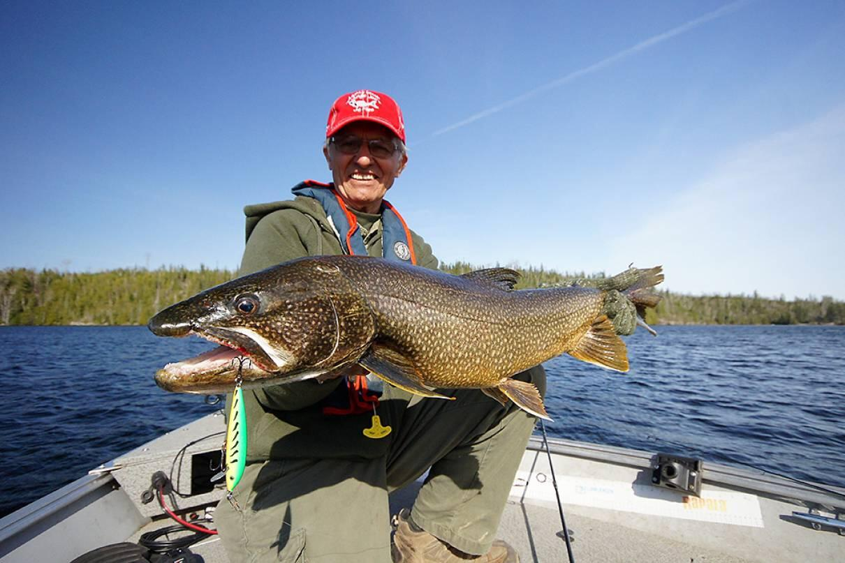 Your top five must fish lakes for ontario lake trout for Best canadian fishing lodges