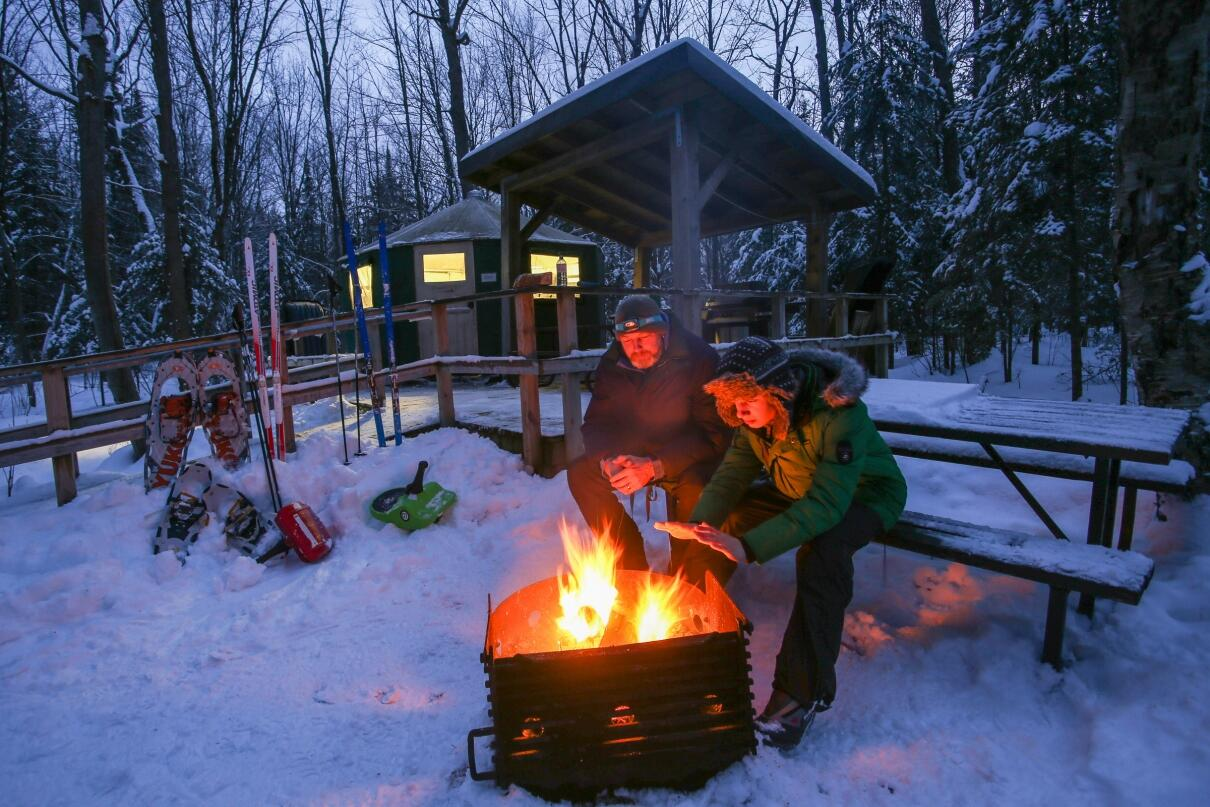 Killarney provincial park in winter a yurt trip planner for Canadian fishing trips cheap
