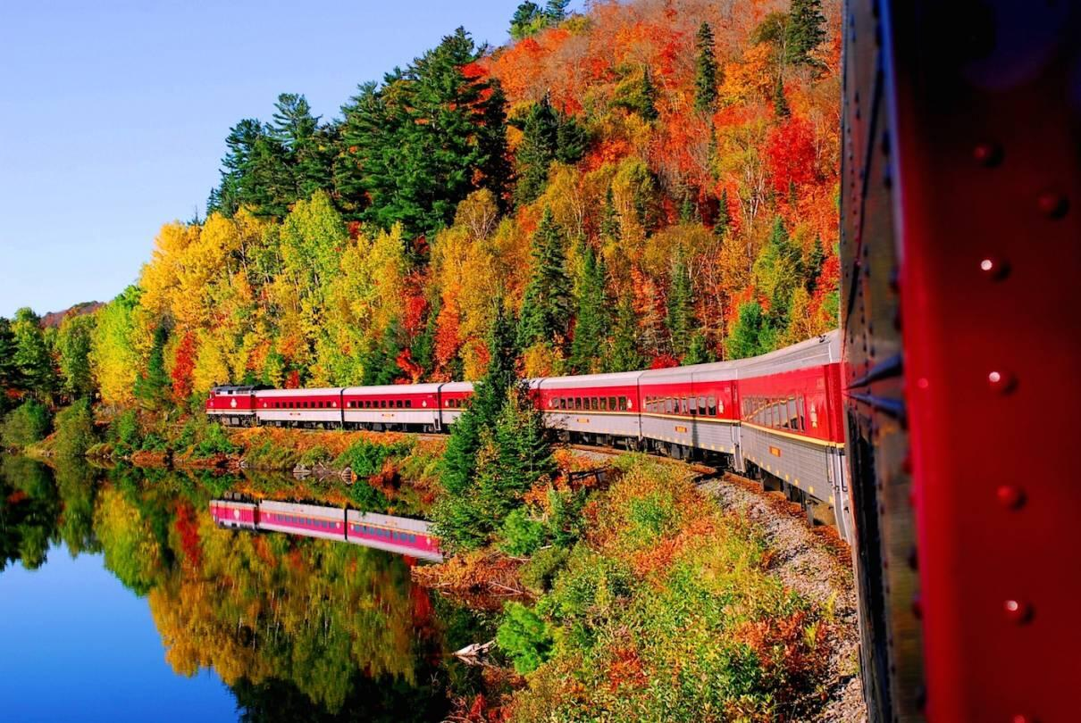 Great Northern Railway Fall Leaf Tour
