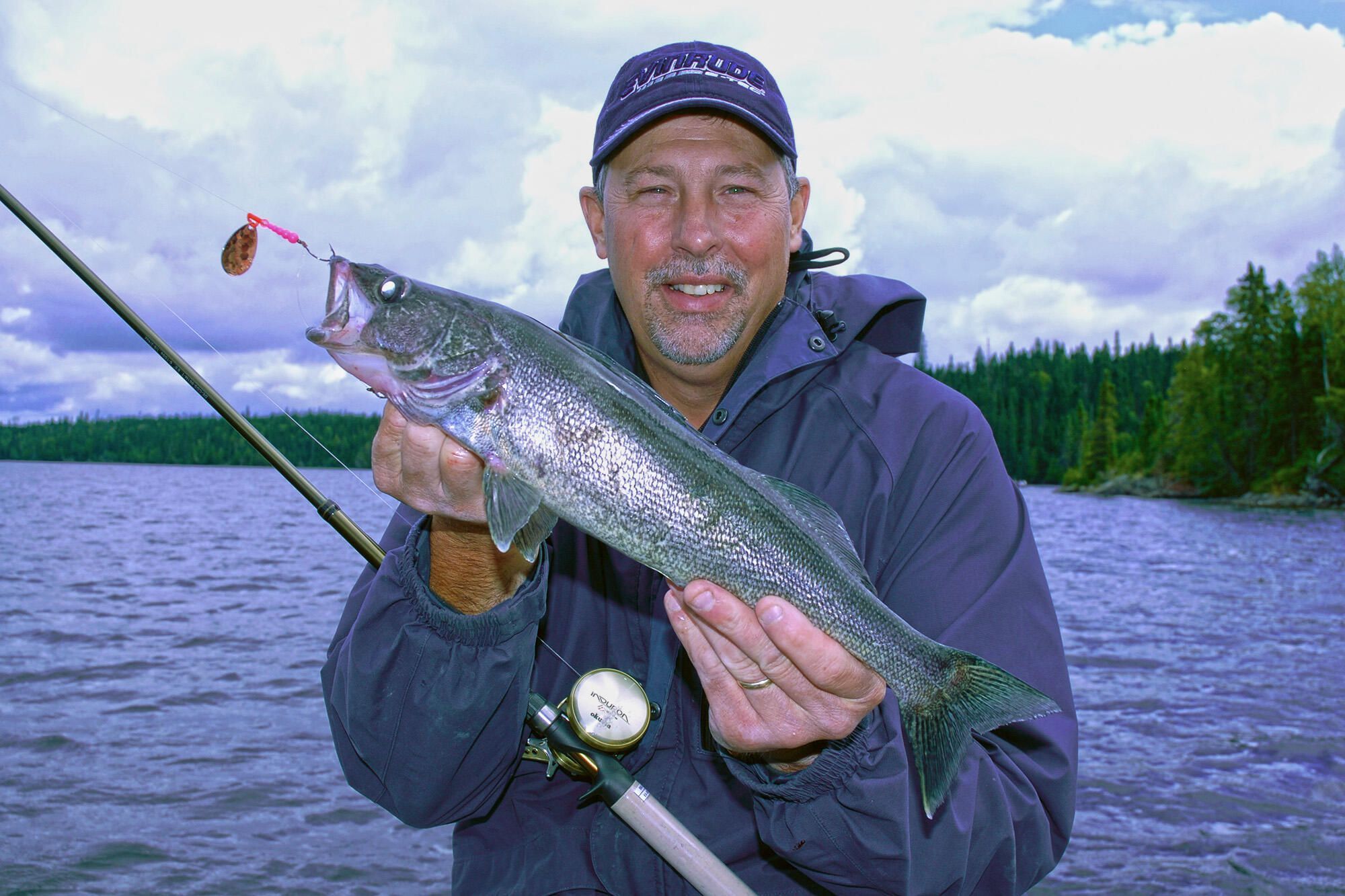 Summer walleye fishing with bottom bouncer and spinner for Walleye fishing videos