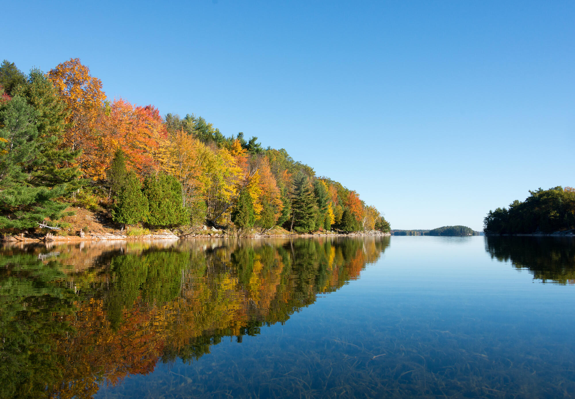 Plan A Road Trip >> Best Places to See Ontario's Fall Colours by Boat