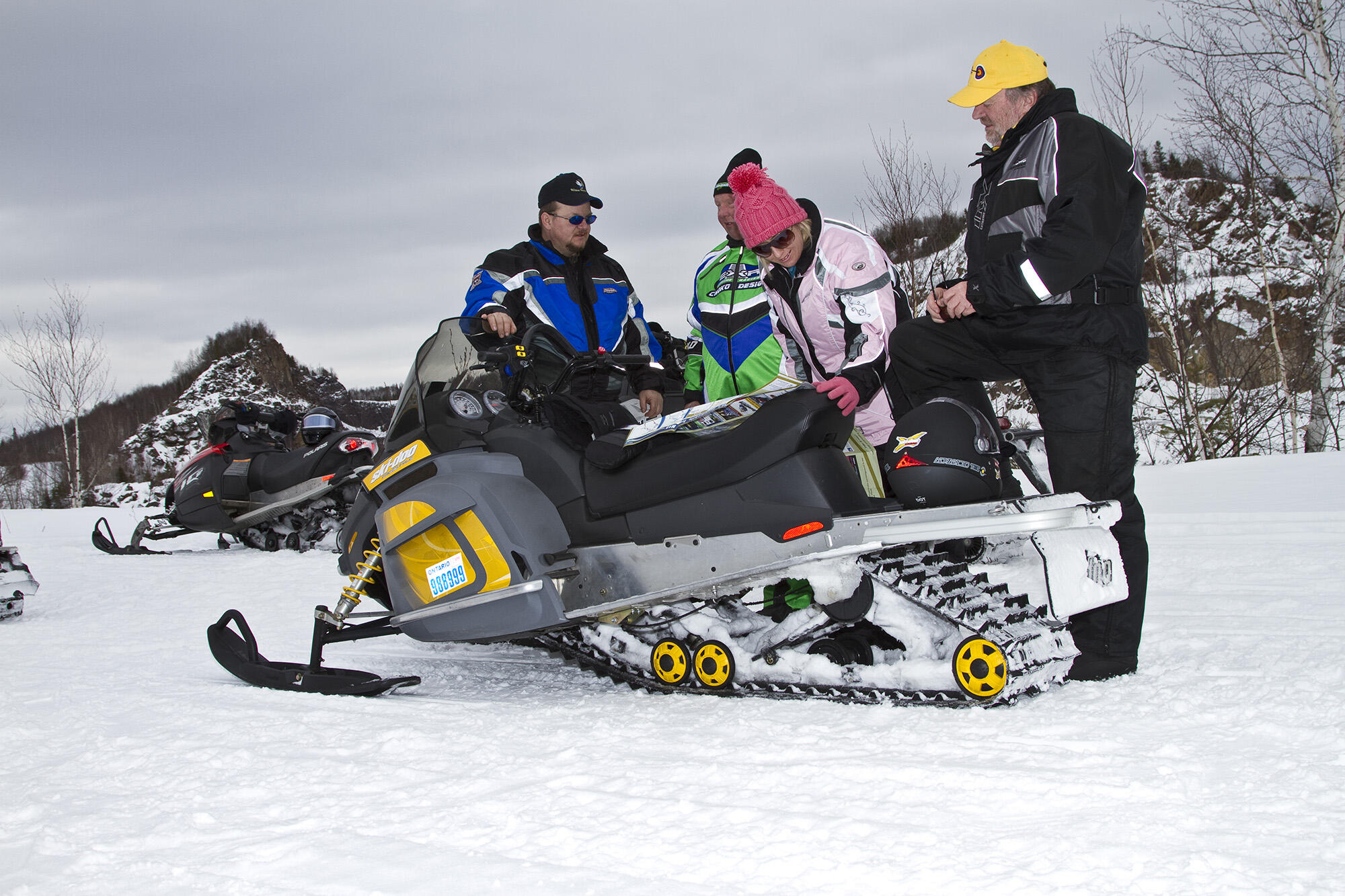 Where to Find Algoma Snowmobile Trail Updates Online Northern