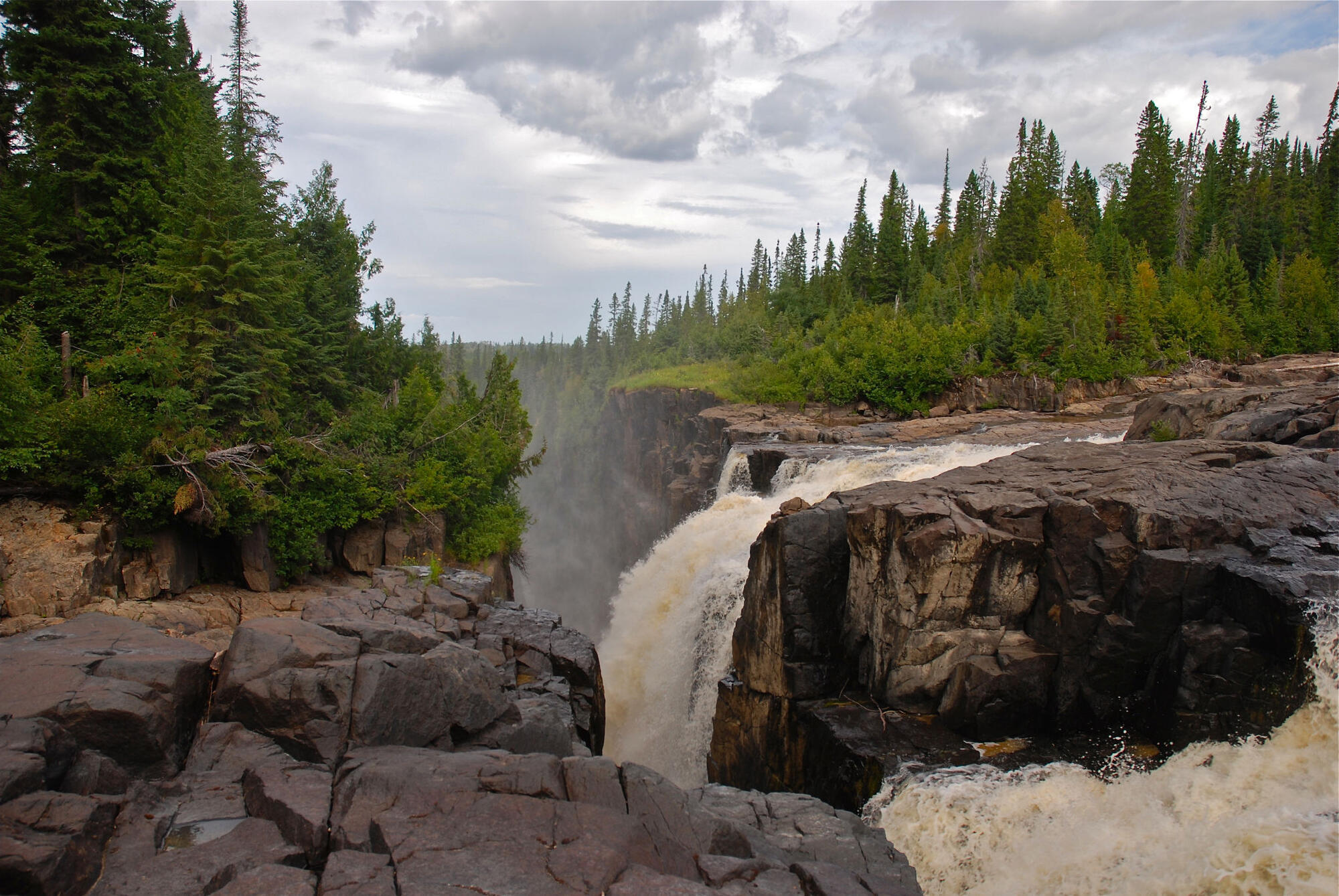 Motorcycle Road Trip >> Height of Land Signs | Northern Ontario Travel