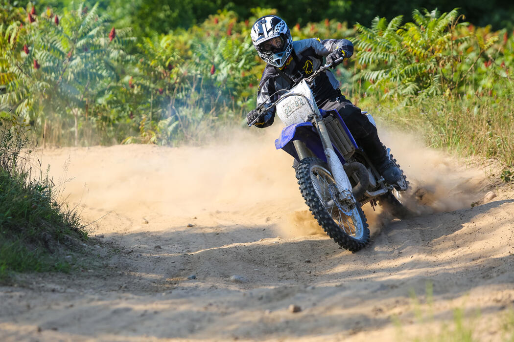 Yamaha YZ250 2-Stroke ridden by MMA Fighter Bryan Caraway