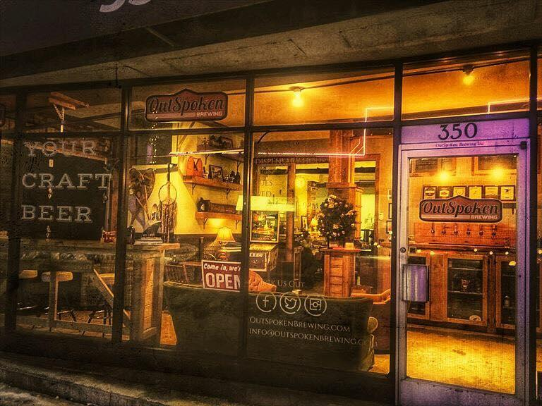 outspoken brewing storefront