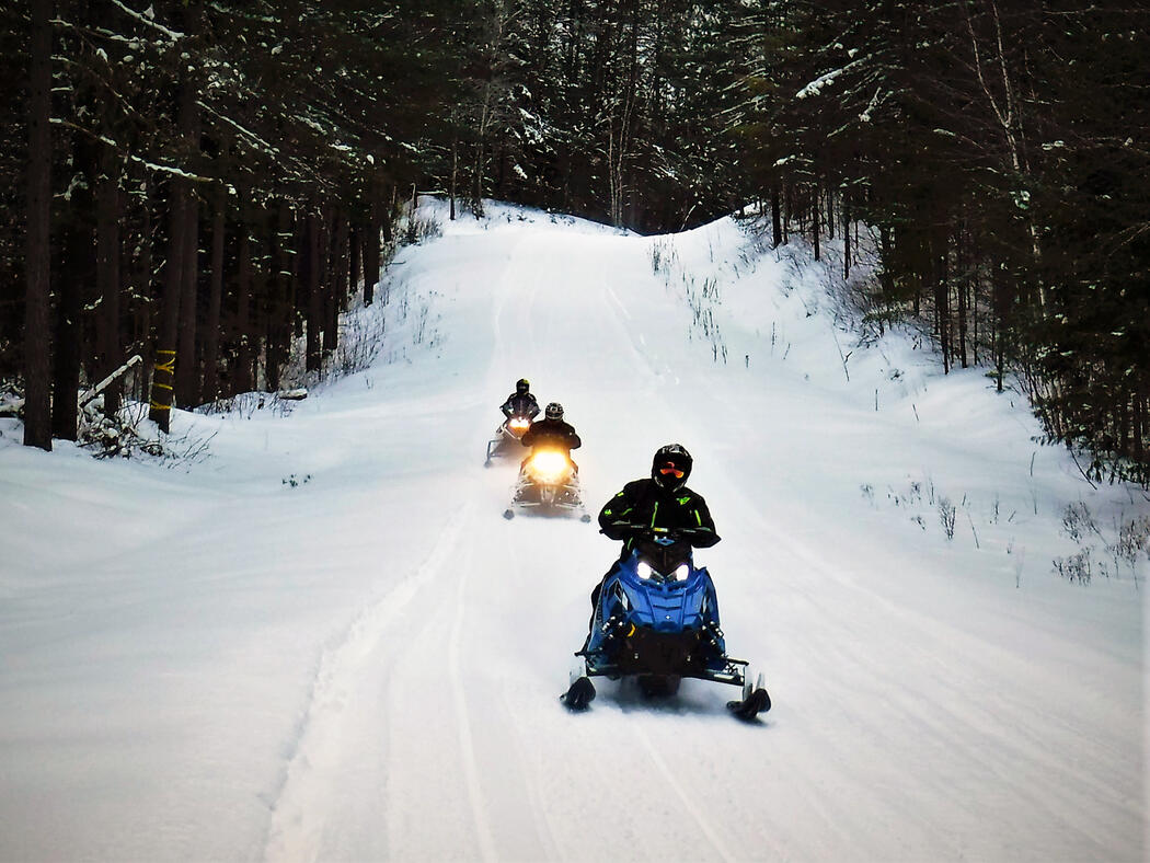 Good times on Ontario's snowmobile trails