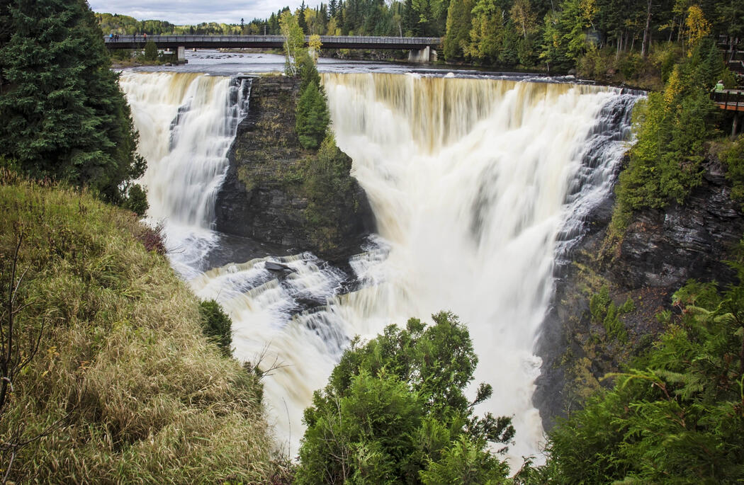 Kakabeka Falls is  a must-see when visiting Thunder Bay, Ontario