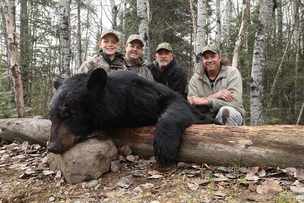 The group with Keiths Bear
