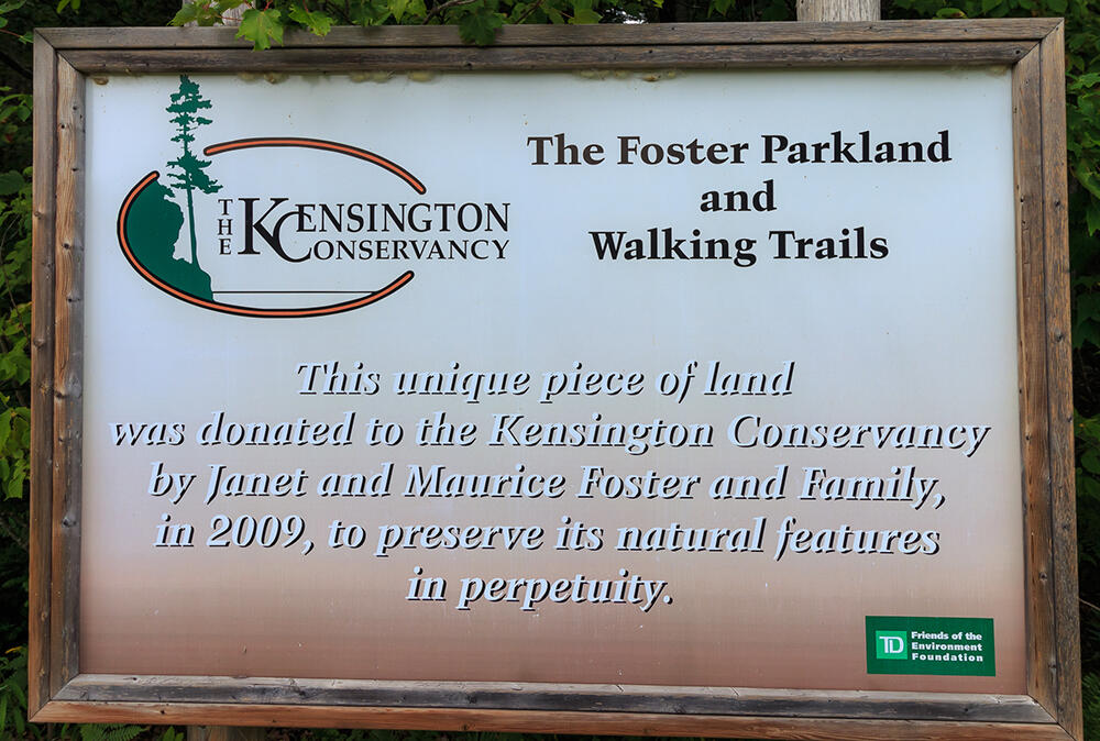 Foster Parkland and Walking Trails