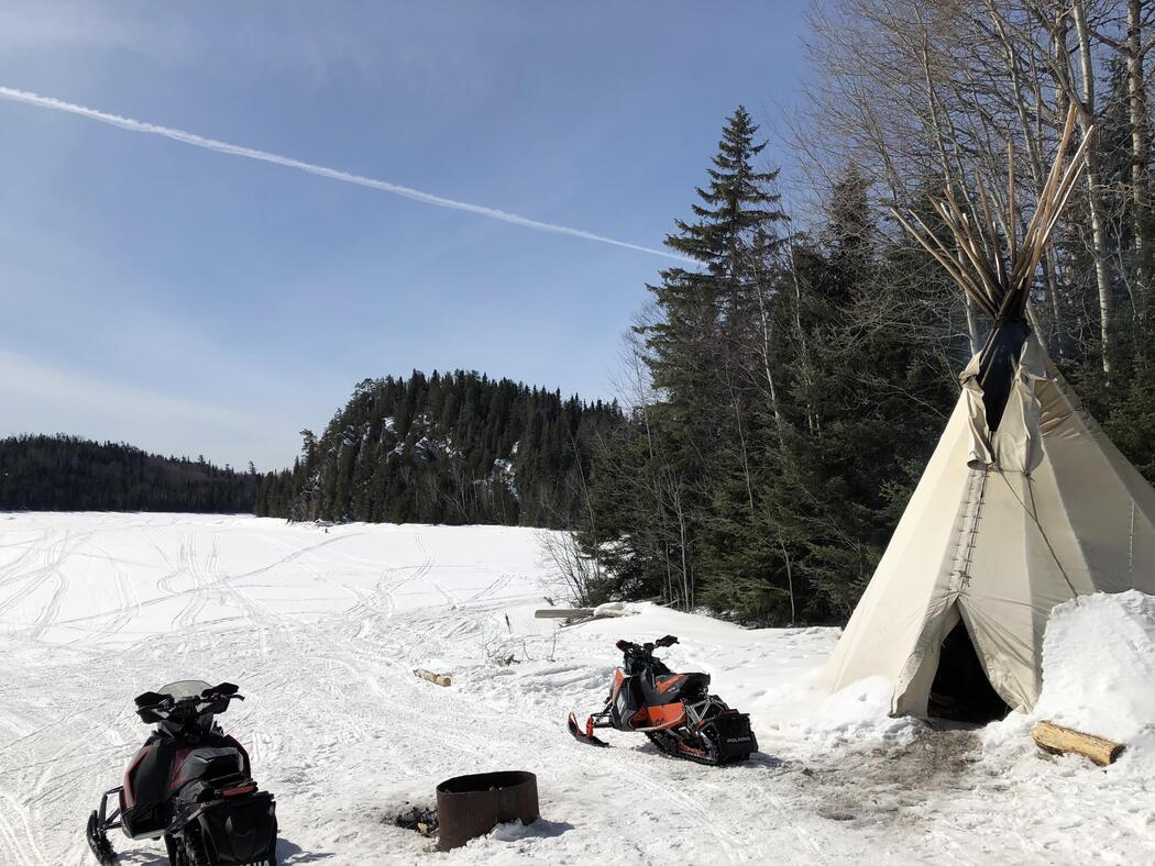 Winter Isnt Over Till Its Over >> Late Season Snowmobile Trip To Horwood Lake Lodge Northern