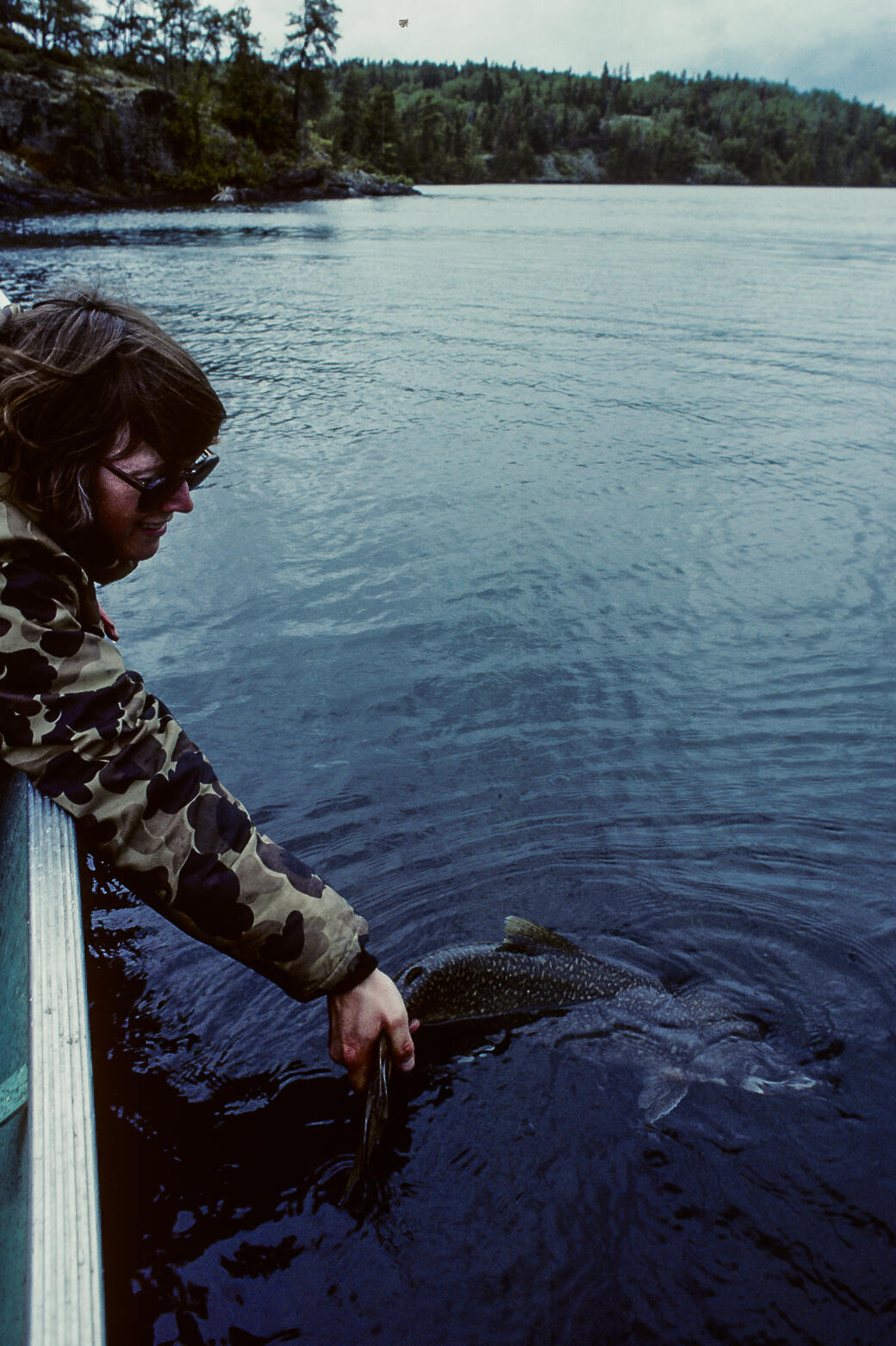 releasing northern pike