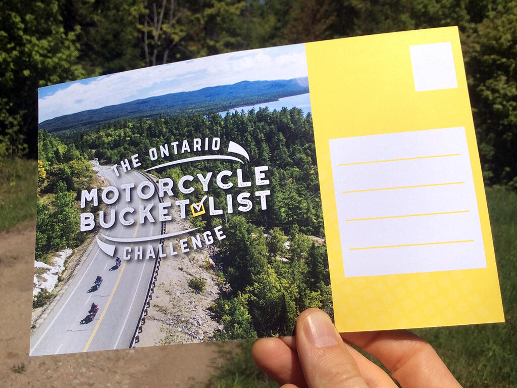 Ontario Motorcycle Bucket List Challenge