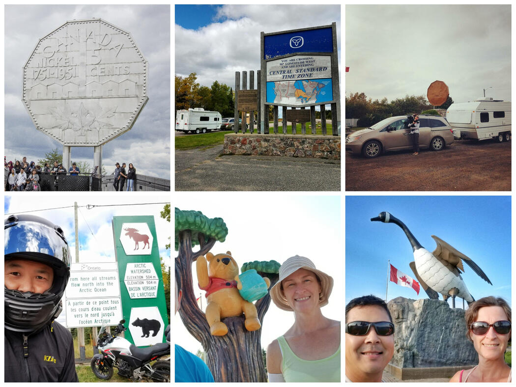 Some of the roadside attractions you'll only find in Ontario