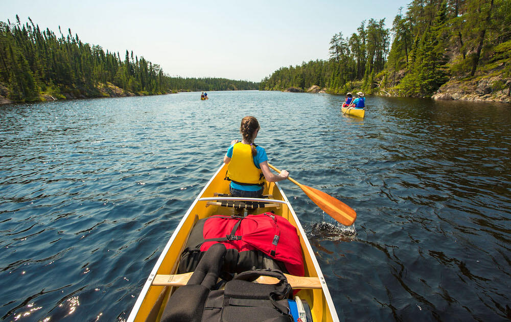 It's a paddler's paradise. | Source: Ontario Tourism