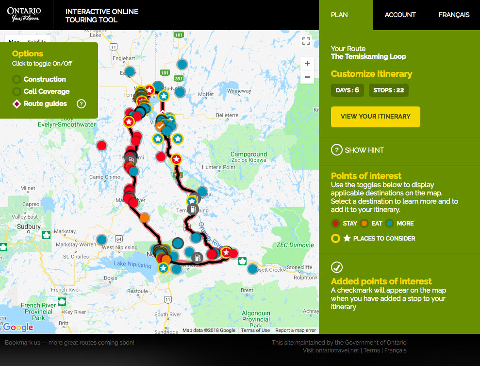 Motorcycle Trips for Couples | Northern Ontario Travel
