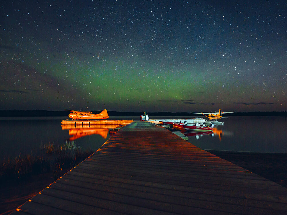Northern Lights over Thunder Bay