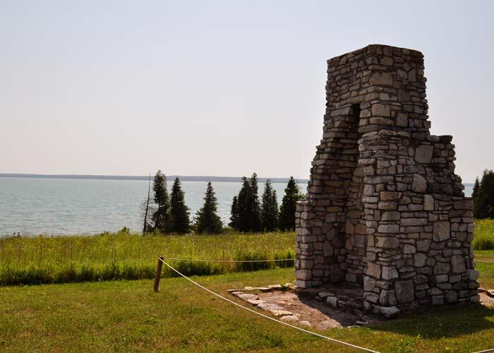 fort st joseph chimney