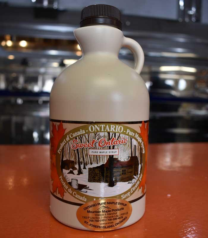 maple syrup bottle