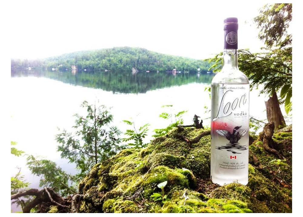 image of loon vodka
